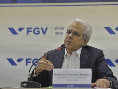 O novo presidente da Petrobras, Roberto Castello Branco.