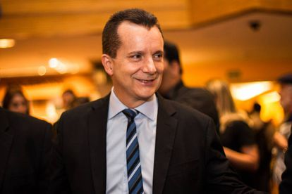 O candidato Celso Russomanno, que tem despencado nas pesquisas após apoio de Bolsonaro.