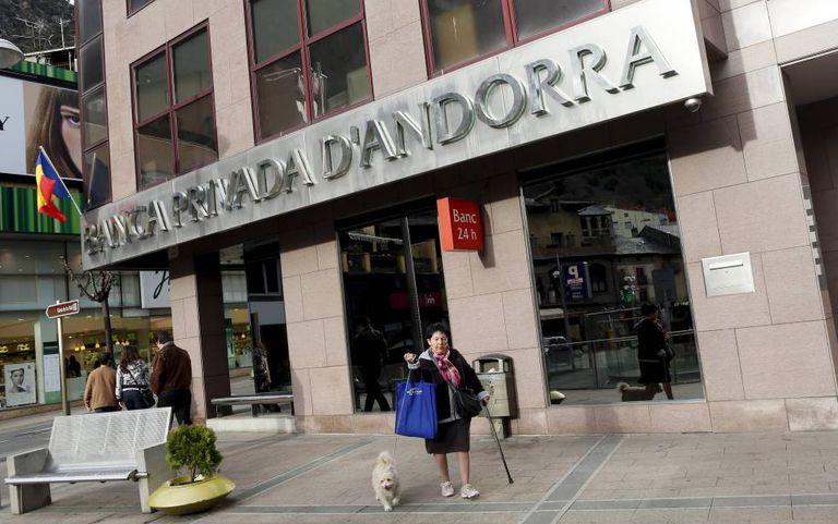 Sede do BPA em Andorra em março de 2015.