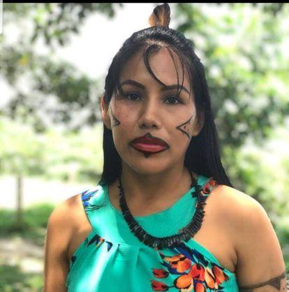 Indígena da etnia Tikuna, Nedilsa Pereira.