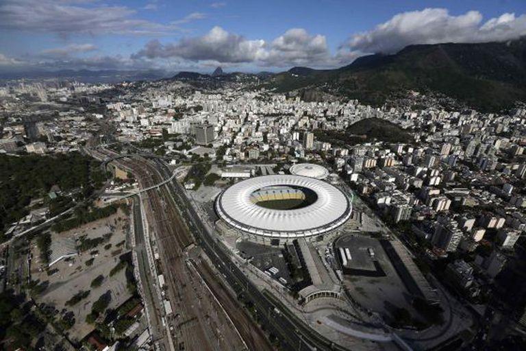 Vista aérea de Maracanã.