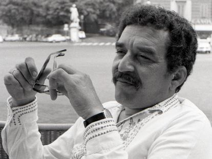 Gabriel García Márquez, em Roma, em 1969.