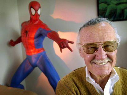 Stan Lee, em foto de 2002.