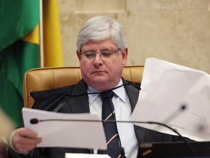 Procurador-geral da República Rodrigo Janot durante sessão do STF em outubro de 2016.