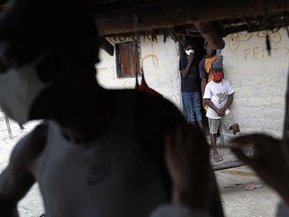 Vacinação contra a covid-19 na comunidade quilombola de Vão das Almas, em Goiás.