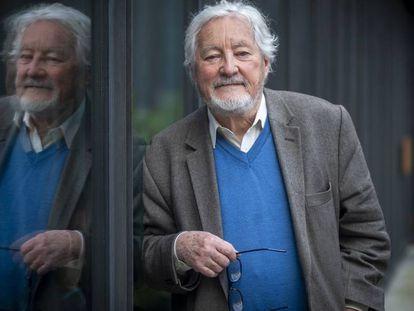 O antropólogo francês Marc Augé, em Barcelona.