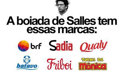 Campanha destrincha marcas e empresas por trás de associações que endossam Salles.