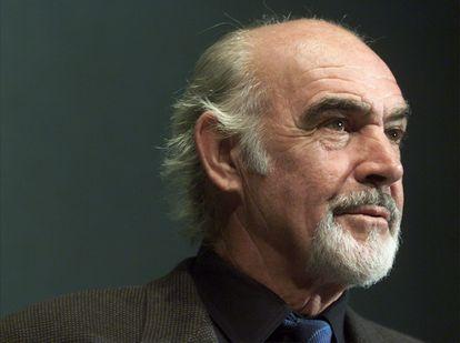Sean Connery em um evento em Washington, em 2001.