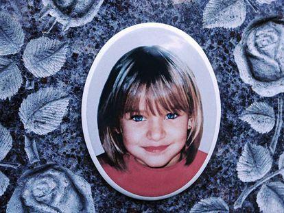 Retrato da criança Peggy Knobloch, desaparecida em 2001.