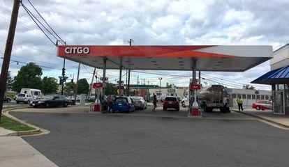 O posto de gasolina da Citgo no nordeste de Washington