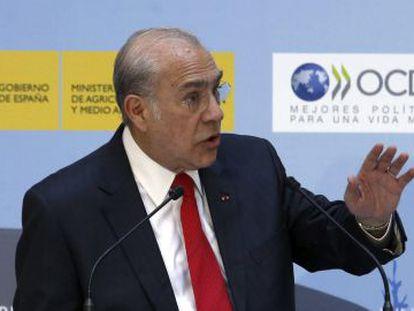 O secretário geral da OCDE, Ángel Gurría.