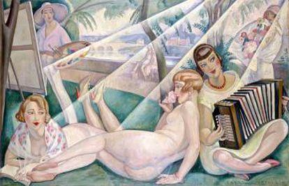 Gerda Wegener, A Summer Day, 1927.