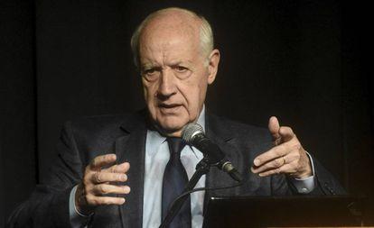 O candidato presidencial argentino Roberto Lavagna.