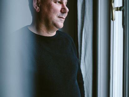 O pensador Ivan Krastev, em sua casa, em Viena.