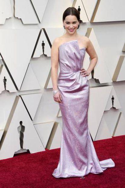 Emilia Clarke no Oscar 2019.
