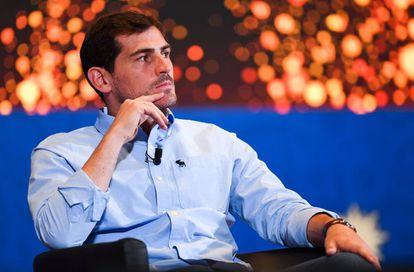 Casillas, no Congresso da FIFA em Moscou em 11 de junho.