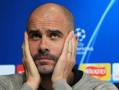 Guardiola precisa reverter 1 a 0 sofrido fora de casa.