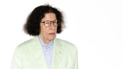 A escritora norte-americana Fran Lebowitz, durante uma visita a Madri em 2018.