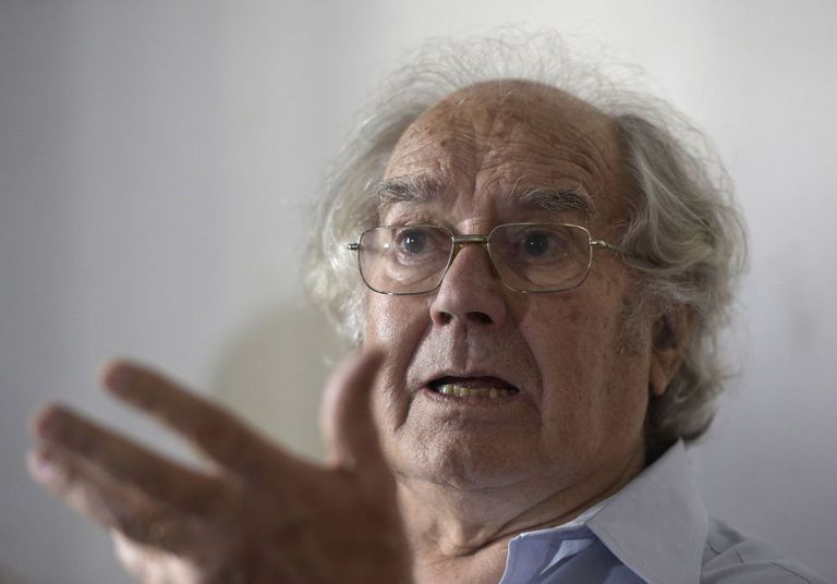 """Pérez Esquivel recebeu o prêmio Nobel em 1980, """"em nome da América Latina"""". AFP"""