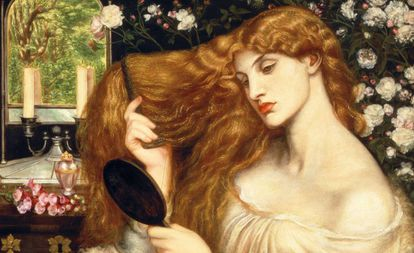 A pintura 'Lady Lilith', de Dante Gabriel Rossetti.