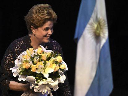 """Dilma: """"Não penso em voltar à política porque o grande presidente para o Brasil é Lula"""""""