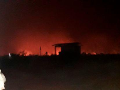 Indígenas Bororo, da terra Tereza Cristina, viram o fogo cercar três aldeias. Pessoas precisaram sair para outras terras e um líder foi transferido por problemas respiratórios.