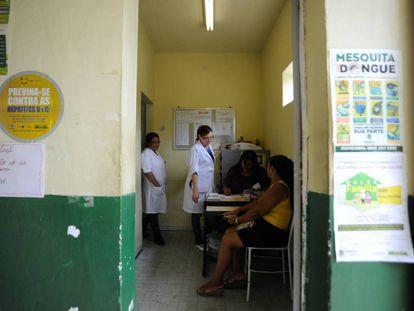 Clínica Estratégia de Saúde da Família de Santo Elias, em Mesquita, na Baixada Fluminense.