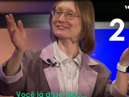 """""""Deixe-a falar!"""": O apelo ao moderador por interromper única mulher em painel de Física"""