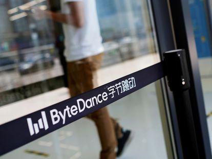 Sede em Pequim da ByteDance , a empresa proprietária do aplicativo TikTok.
