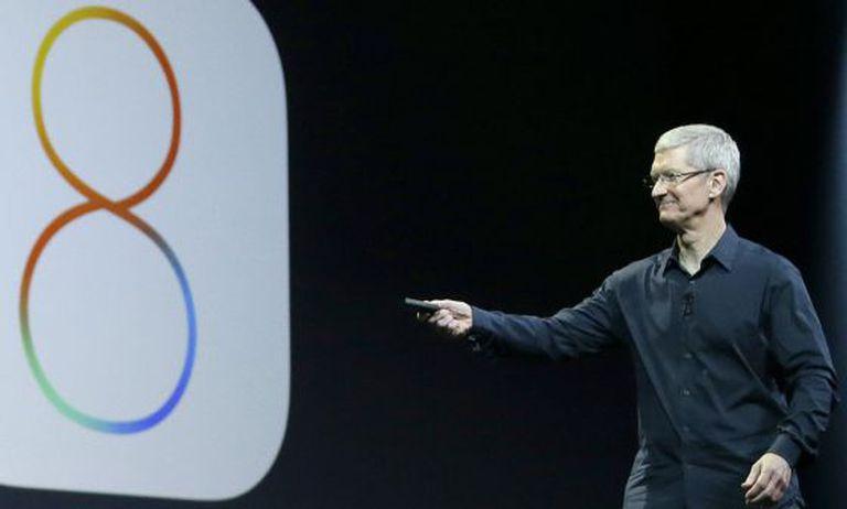 Tim Cook anuncia o novo sistema operacional para celulares