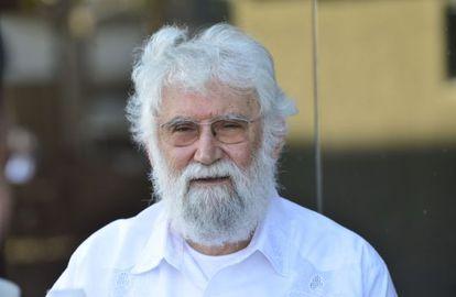 O teólogo Leonardo Boff, em fevereiro.