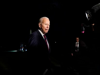 Joe Biden, na Casa Branca, na quarta-feira, 21 de julho.