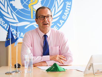 Hans Kluge, diretor da OMS para a Europa, em agosto, em foto da instituição.