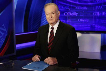 Bill O'Reilly, apresentador da Fox, em 2015.