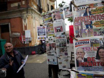 A contagem põe à prova as instituições peruanas, que resistem à tensão