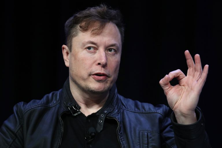 Elon Musk, durante uma conferência em Washington em 9 de março.