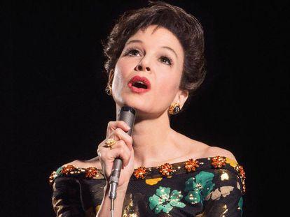 Renée Zellweger, em cena de 'Judy - Muito além no arco-íris'