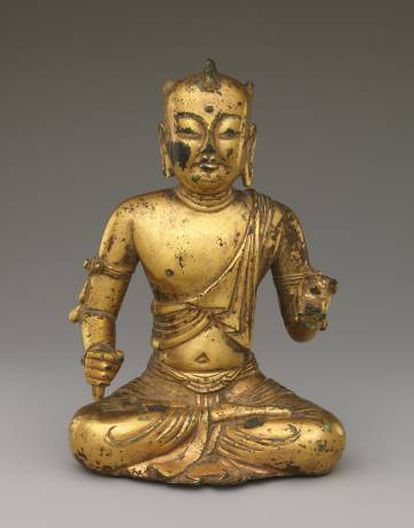 Figura pertencente à dinastia Liao no Metropolitan.