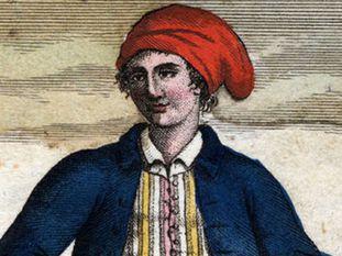 Jeanne Baret, segundo uma gravura da época.