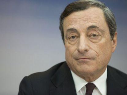 Mario Draghi, presidente do BCE, em julho passado.
