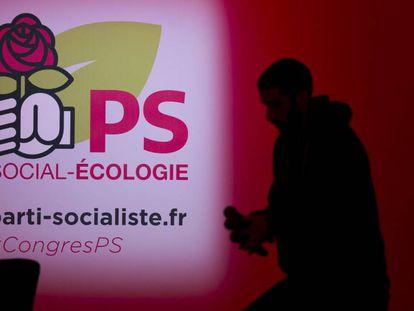 O PS francês realiza seu congresso em Aubervilliers, nos arredores de Paris.