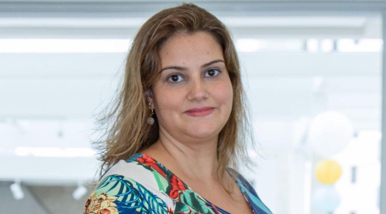 A psicóloga Cibelle Marras, de São Paulo.