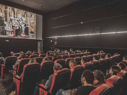 Sala do cinema Belas Artes, em São Paulo.