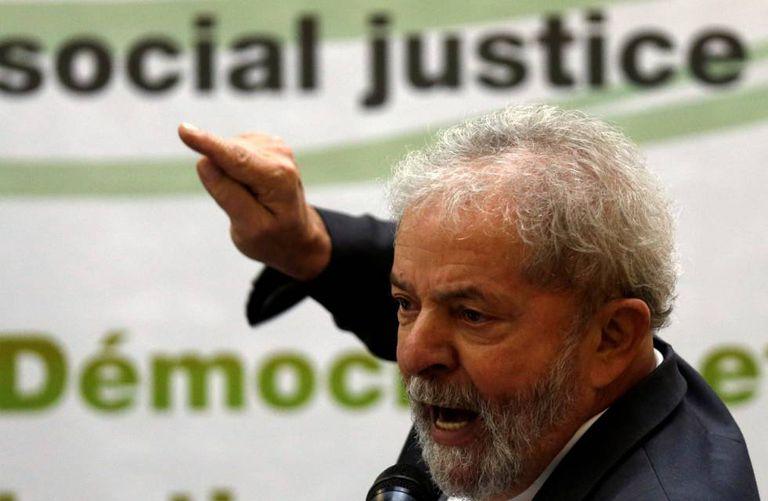 Lula em evento no dia 25 de abril.