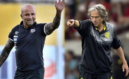 Sampaoli e Jesus se encontram no Maracanã. Em disputa, a liderança do Brasileirão.