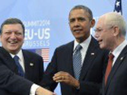 As potências avaliam a crise da Ucrânia na reunião de 56 líderes para prevenir o terrorismo mundial