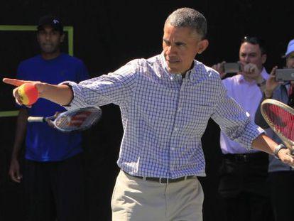 Obama, nesta segunda-feira, na celebração da Páscoa na Casa Branca.