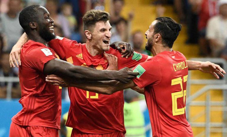 Lukaku, Meunier e Chadli comemoram classificação belga para as quartas.