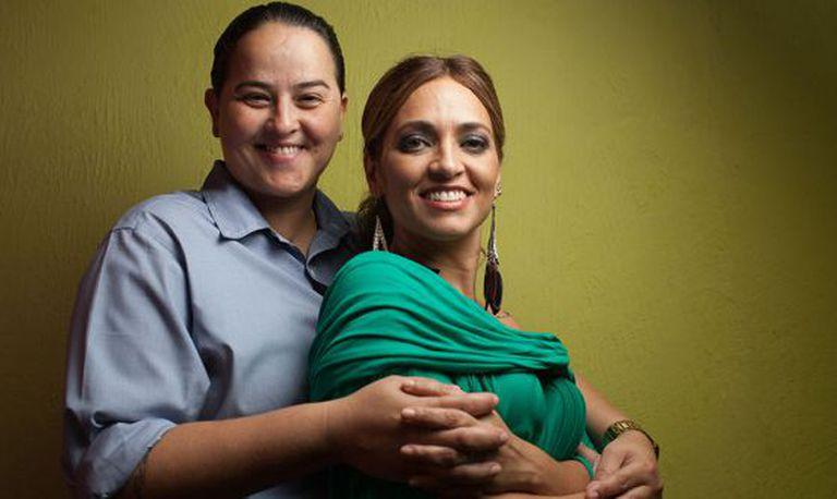 Lanna Holder (à esq.) e Rosania Rocha.