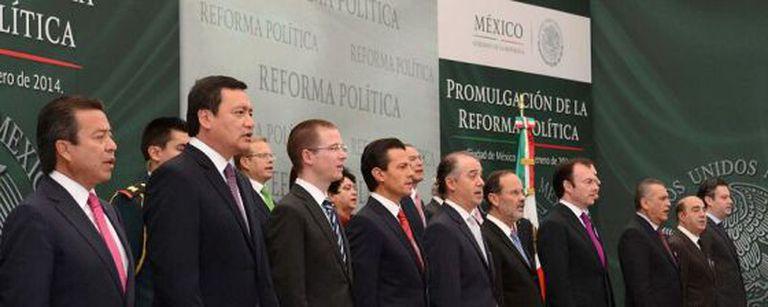 Ato de promulgação da reforma política